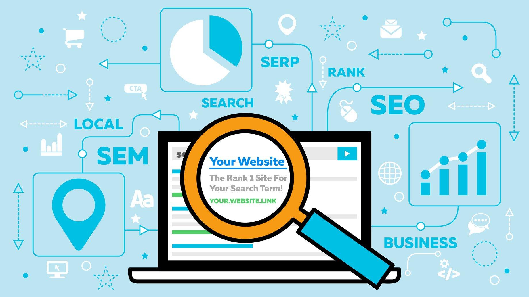 تحسين الموقع في محركات البحث لتظهر في الصفحات الأولى