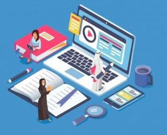 أنظمة التعليم الإلكتروني في السعودية